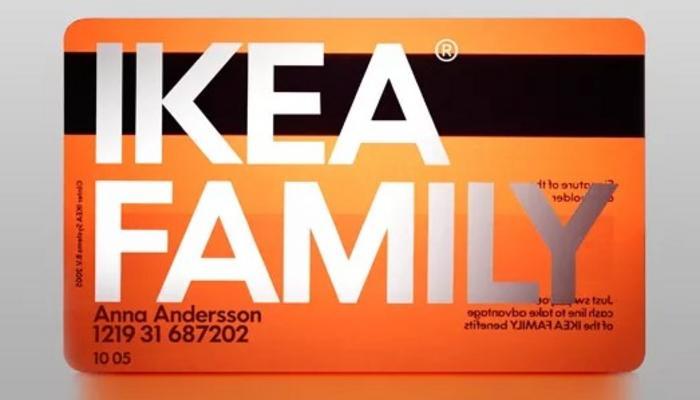 Клубная карта IKEA Family