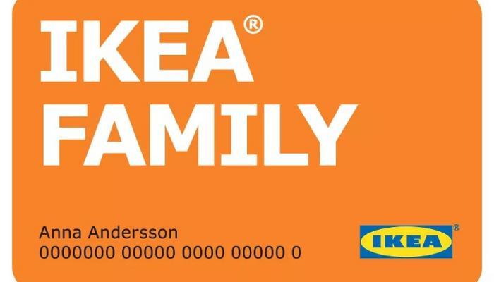 Финансовая карта IKEA