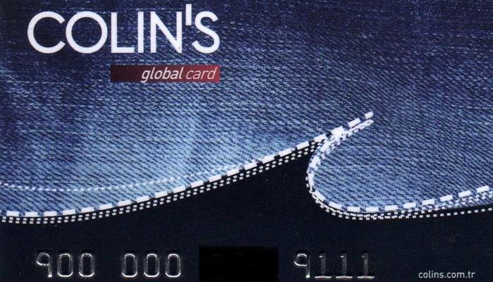 Colin's скидочная карта